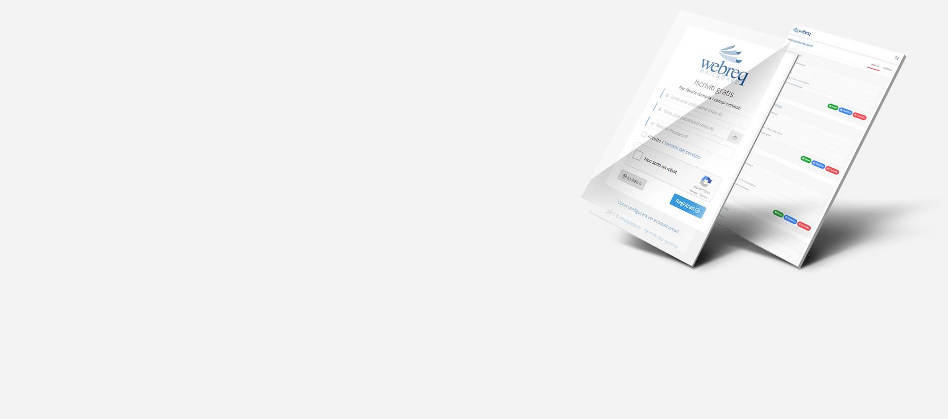 App webmail professionale